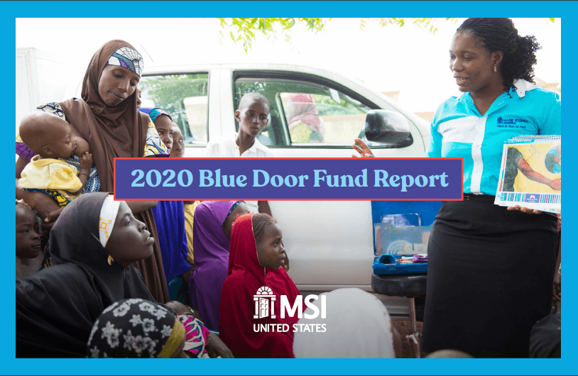 2020 Blue Door Fund Report